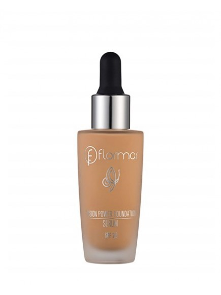 Тональный крем-флюид c SPF-20 Flormar Fusion Power Serum foundation, 10