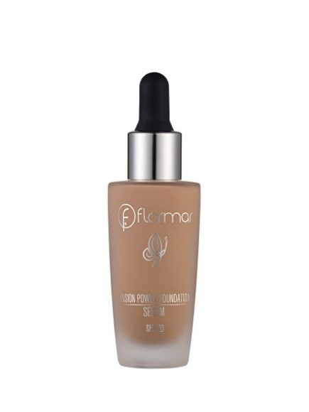 Тональный крем-флюид c SPF-20 Flormar Fusion Power Serum foundation, 21