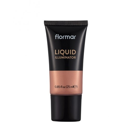 Жидкий хайлайтер Flormar Liquid Illuminator Bronze