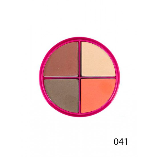 Тени для век Flormar Pretty Quartet Eye Shadow