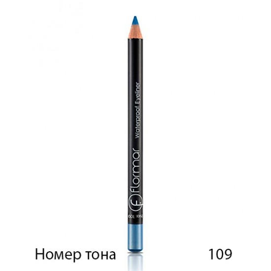 Карандаш для глаз Flormar Waterproof Eyeliner pencil